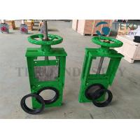 Buy cheap Bi-directional Seal NR Elastomer Seat Demanding Slurry Knife Valve For Slurry from wholesalers