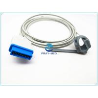 Quality TS-F4-GE Datex Ohmeda S / 5 Adult Spo2 Sensor Peidatric 11 Pin Medical TPU Material for sale