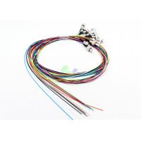Quality 12 Colors Fiber Optic Pigtail , LSZH Loose Buffer Single Mode Fiber Pigtails Easy To Strip for sale