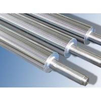 China Anti - corrosive Industrial Steel Rollers , Hard Chrome Plated Steel Roll on sale