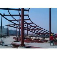 Quality Anti Corrosion Cracking Architectural Structural Steel For Workshop / Warehouse for sale