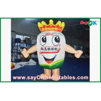 China Outdoor Cartoon Inflatable Mascot Costume Wind-proof With Blower on sale