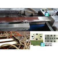 Quality High Output Plastic Profile Extrusion Machine With Corresponding Mould for sale
