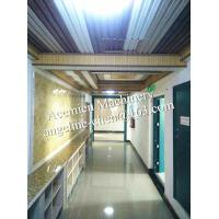 Quality Plastic PVC marble backdrop wall sheet making machine production line for sale