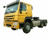 Quality SINOTRUK 10 Wheeler Prime Mover Truck Wheel 6X4 371 420 hp HOWO A7 for sale