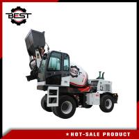 Buy cheap 3.6 cubic meters self loading concrete mixer truck for sale with free spare from wholesalers