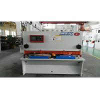 Quality Hydraulic Drive H13 / D2 Balde NC Guillotine Shear For Thick Steel Cutting for sale