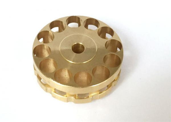 Buy Copper Material Machining Small Metal Parts , Automobile Use CNC Mechanical Parts at wholesale prices