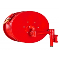 Quality 30m Synthetic Rubber 1.2mpa Manual Fire Hose Reel for sale