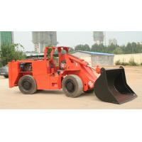 ISO Certificated Underground Loader for Mining and Tunneling with with Small Turning Radius and High Efficient Payload