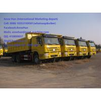 Quality 50T 20M3 371 HP 12 Wheels Yellow Heavy Duty Dump Truck low fuel consumption Q345 Carbor steel Bucket for sale