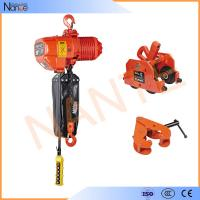 Quality Chain Bag Electric Chain Hoist With Limit Switch , High Strength Shell for sale