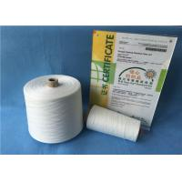 Quality Bright Color Ring Spun Polyester Yarn , 12/4 20/2 Spun Polyester Sewing Thread for sale