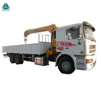 Quality 6X4 12 Tons HIAB Telescopic Boom Truck Mounted Crane For Goods Lifting for sale