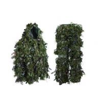 Quality Hybrid Woodland Camouflage Ghillie Suit Lightweight Adjustable Leaf Ghillie Suit for sale