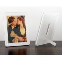 Quality acrylic 8x10 magnetic photo frame for sale