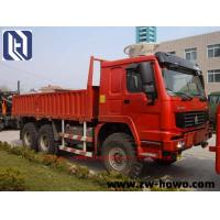 Quality 6 X 4 Log Carrier Heavy Equipment Trucks 40 TON  for transport SINOTRUK HOWO CHASSIS EuroIII for sale