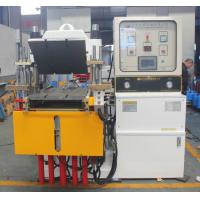 Buy cheap Custom Rubber Injection Moulding Machine White Vulcanising Machine Stroke 250mm from wholesalers