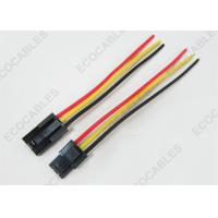 Quality Custom Electrical Wire Harness Assembly 3Pin / Molex Terminal Wire Rohs Compliant for sale