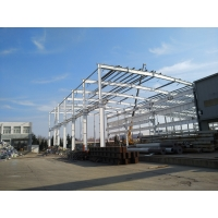 Quality Experienced TEKLA Modeling Industrial Metal Workshop Building Construction Project for sale
