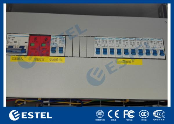 """Buy AC / DC Power Distribution Unit With Various Circuit Breaker and SPD / 19"""" Rack Mount PDU at wholesale prices"""