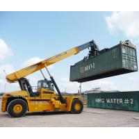 Quality 45 Ton Telescopic Boom Crane Container Reach Stacker XCS45 Efficient Operation for sale