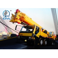 Quality 40% Gradeability  Truck Crane QY35K5 35 Ton 6m Span 54.6m Lifting Height for sale