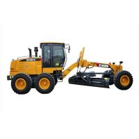 Quality 7000kg Payload SHMC GR215 Motor Grader for Road Construction , Yellow , White for sale