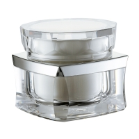 Quality PP inner 30g 50g Acrylic Jars For Cosmetics for sale