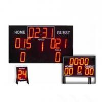 Buy cheap College Digital Electronic Basketball Scoreboard Standard And Economy Model from wholesalers
