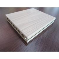 Quality Hollow Co-extrusion WPC Composite Decking Tiles Rotproof for Garden for sale