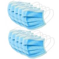 Quality Anti Pollution Disposable 3 Ply Face Mask Good Air Permeability Comfortable To Wear for sale