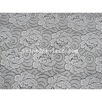 Buy cheap Simple / Elegant Flower Pattern Cotton Nylon Lace Fabric For Fashion Mash SYD from wholesalers