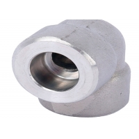 Quality 45 90 Degree Asme B16.11 A182 F316 Socket Weld Elbow for sale