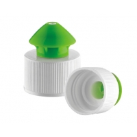 Quality Child Proof PP Ribbed 24 410 Plastic Closure Caps for sale
