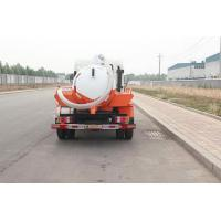 Quality 6 Wheeler 8000l Disposal Sewage Suction Vehicle Trucks Euro2 Sinotruk Howo for sale