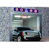 Buy cheap Automatic Automobile Elevator Safe And Anti Skid Infrared Protection from wholesalers
