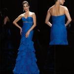 Quality Pleated Taffeta Evening Dress Prom Dress (LP071) for sale