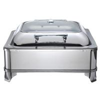 Quality Electric Stainless Steel Restaurant Buffet Chafing Dish With Cover For Catering Equipment 1806E for sale