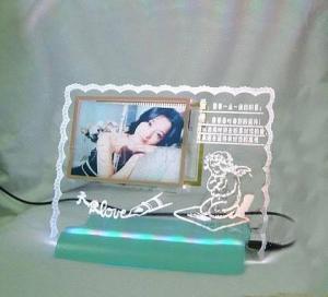 China acrylic photo frame (MH-PF096) on sale