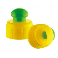 Quality PP Material 28mm 410 push pull bottle caps for sale