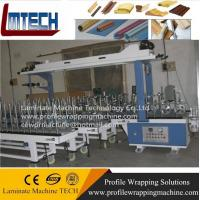 Quality pvc Door frame Profile wrapping machine for sale
