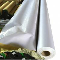 China Waterproof Digital Flex Printing Banner Rolls Bright Printing Colors For Advertising on sale