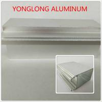 Quality Silver Color Polished Aluminium Alloy Profiles T5 For Window / Door Materials for sale