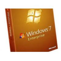 Quality Computer System Microsoft Windows 7 Enterprise License 32 / 64 Bits English Version for sale