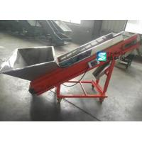 Quality 0.75Kw Portable Conveyor Systems Automatic Feeding For Plastic Granules Machine for sale