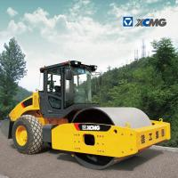 Quality Official Single Drum Vibratory Roller , Vibratory Plate Compactor Simple Operation for sale