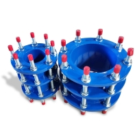 Quality Ductile Iron Pipe DN50 Flanged Dismantling Joint for sale