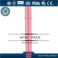 Buy cheap 10ml Pink Tube Glass Roller Bottles Sweet color For Perfume / Oil from wholesalers