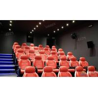 Quality Fantastic Truck Electric System 5D Movie Theater With Metal Flat Screen for sale